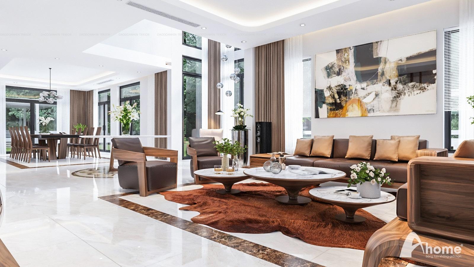 Giới thiệu về thiết kế nội thất biệt thự phong cách hiện đại