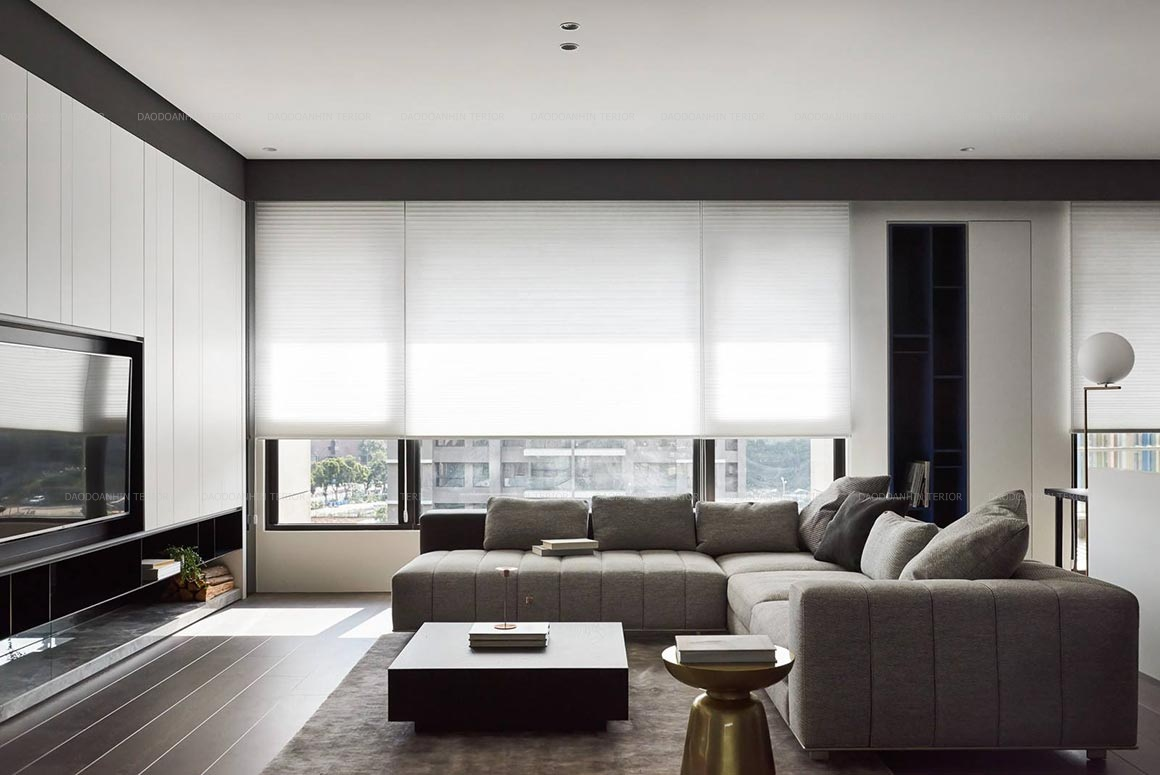 Thiết kế nội thất căn hộ phong cách hiện đại