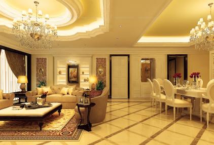 Tham khảo thiết kế nội thất căn hộ phong cách Châu  Âu