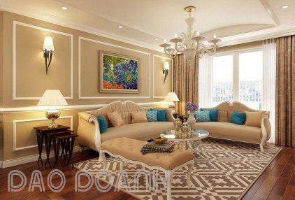 Thiết kế nội thất phong cách châu Âu