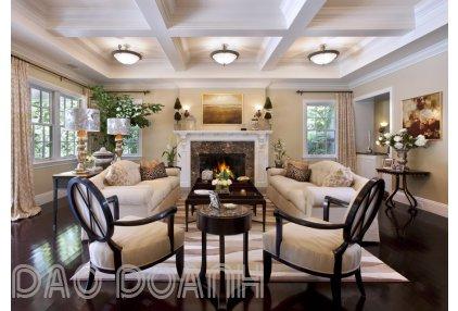 Thiết kế nội thất phong cách tân cổ điển, xu hướng kiến trúc mới.