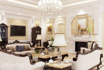 Thiết kế nội thất tân cổ điển Hồ Chí Minh đẹp nhất