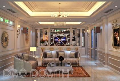 Xu hướng thiết kế nội thất biệt thự phong cách tân cổ điển